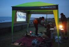 「浜辺で映画を観ようよ」2012 冬編 #浜辺の過ごし方